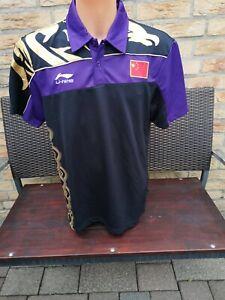 Badminton Trikot Li-Ning China Nationalteam Jersey Sport XL XXL L Shirt Polo