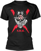 S.O.D. STORMTROOPERS OF DEATH Speak English Or Die T-SHIRT OFFICIAL MERCHANDISE