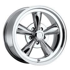"15"" Vision 141 Legend 5 Chrome Classic Wheel 15x7 5x4.5 6mm Ford Dodge 5 Lug Rim"