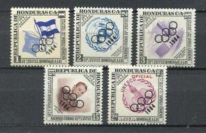 25082) Honduras 1964 MNH New Scott #C222-C224 Olympic Games 5v