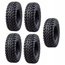 Tusk Terrabite Radial ATV UTV Tire Kit Set Of Five 5 Tires 30x10-14