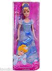 "NEW Disney Sparkling PRINCESS 12"" CINDERELLA BARBIE DOLL Blue Dress Clothes NIB!"