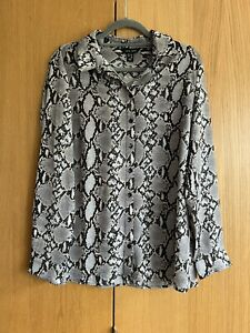 New Look Snake Print Shirt - 14