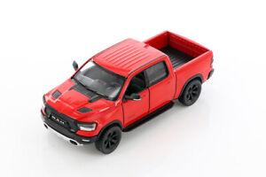 "5"" Die-cast: RED 2019 RAM 1500 Pickup Truck 1/46 Scale Diecast Model car"