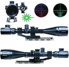 Hpt Hunting 6-24X50 AOEG Rifle Scope Dual illuminated Reticle w/ Red Laser Sight