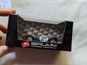 brumm ferrari 125 black 1:43 scale model car O1 358 M