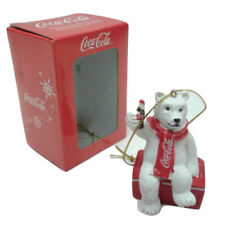 Coca Cola Polar Bear Ornament