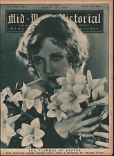 1931 Miss Ethlyne Claire - Screen Star Pictured On Cover