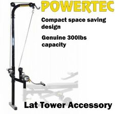 POWERTEC Lat Tower Accessory WB-LTA14 Pulldown Seated Rows Pull Down Machine