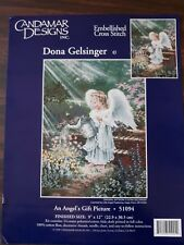 Candamar Designs Counted Cross Stitch Kit - An Angel's Gift Picture #51094