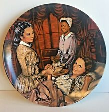 """""""Melanie Gives Birth"""" Gone with the Wind 1967 Collector Plate"""