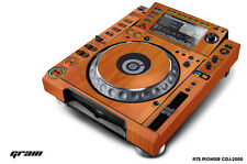 Skin Decal Sticker Wrap for Pioneer CDJ 2000 Turntable DJ Mixer Pro Audio GRAIN