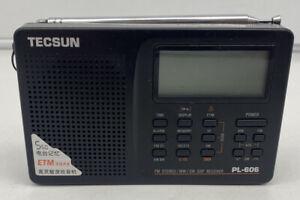 Tecsun PL-606 Battery Operated Portable FM Stereo Radio MW SW DSP Receiver