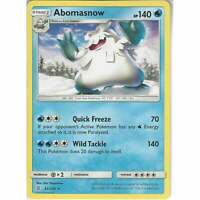 42/236 Abomasnow | Rare Card | Pokemon Trading Card Game Unified Minds TCG SM-11