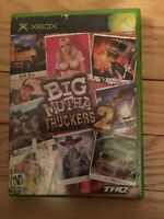 BIG MUTHA TRUCKERS 2 - XBOX - COMPLETE WITH MANUAL - FREE S/H - (LL)