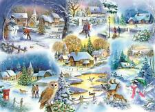 La House of Puzzles-Puzzle 1000 PEZZI-LET IT SNOW