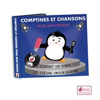 Comptines Et Chansons Pour Mon Enfant - Coffret (CD + Clé USB MP3)