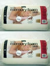 2x easycomfort Non-Allergenic Medium Firm Luxury Memory Foam Pillow