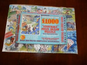 Complete Sporting Record Find Football Team Game Charity Paralysed Jigsaw Puzzle