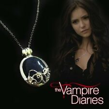 NEW Katherine Vampire Diaries Day Light Pendant Necklace Chain Lapis Lazuli
