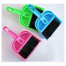 Desktop Keyboard Sweep Cleaning Brush Small Broom Dustpan Mini Shovel Set#G