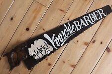 Custom Rusty Scie Signe Vintage Plaque Bar SHOP Tatouage Barber Garage Hotrod VW