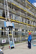 NEU Geda Fixlift 14m verstärkt ! Schrägaufzug Bauaufzug Dachdeckeraufzug Böcker