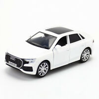 1:36 2019 Audi Q8 SUV Model Car Alloy Diecast Toy Pull Back White Kids Gift