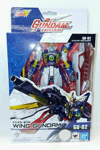 Gundam Universe Wing Gundam Action Figure XXXG-01W Mobile Suit Tamashii Nations
