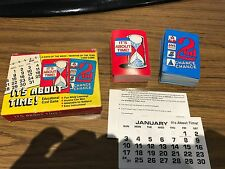 """RARE Vintage """"its about time"""" time learning game made by Math Co."""