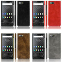 PU Leather Case Back Cover for BlackBerry KEY2  Unlocked Smartphone 64GB