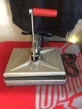 "Vintage Junior FOTOFLAT Dry Mounting & Laminating Press ""Working"""