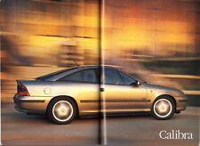 Vauxhall 1995-96 UK Market Sales Brochure Corsa Tigra Astra Vectra Calibra Omega