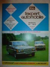 REVUE EXPERT AUTOMOBILE - MERCEDES BENZ ( 200D-240D ) N° 193 DECEMBRE 1982