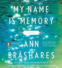MY NAME IS MEMORY  Ann Brashares Unabridged 9 CDs PAST LIVES FREE SHIPPING !!!!