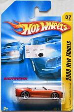 Hot Wheels 2008 New Models Camaro Convertible Concept Orange