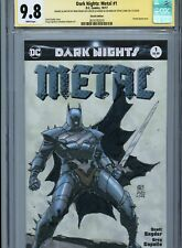 MEDIEVAL BATMAN Sketch cover by KHOI PHAM CGC SS 9.8 DC Metal Dark Nights