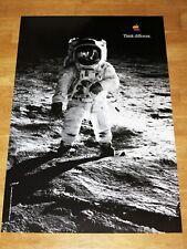 APPLE THINK DIFFERENT affiche-Buzz Aldrin/24 x 36 by STEVE JOBS 91 x 61 cm