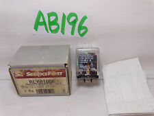 NEW SERVICE FIRST TRANE PART TRANE RLY01890  80 Ohm 50A/120VAC CONTACT RELAY
