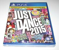 Just Dance 2015 for Playstation 4 Brand New! Fast Shipping!