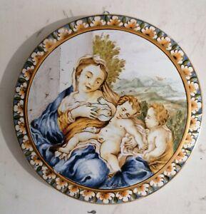 Ceramica Castelli Tondo Maiolica