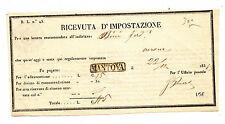 N210-LOMB.VENETO-RICEVUTA D'IMPOSTAZIONE MANTOVA