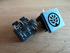 2 x 8 Pin DIN PCB Sockets Audio (069)