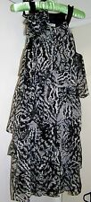 Nicola Finetti  Size 10 After 5 party dress - Black & Grey-  NEW with tag