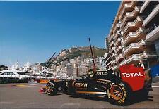 NICK HEIDFELD Signed Autograph LOTUS Monaco F1 12x8 Photo AFTAL COA In Person