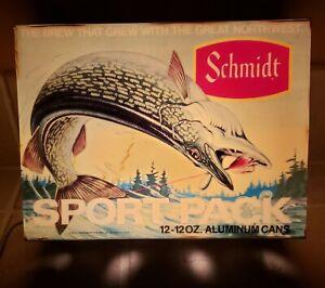 Vintage Antique Rare Schmidt Pike Muskie Fish Musky Motion Light Beer Bar Sign