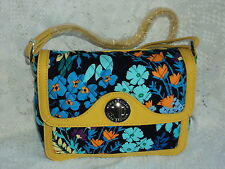 Vera Bradley Patricia Crossbody in Midnight Blues Leather Strap Free Shipping$79