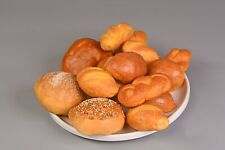 LOT of (14) pieces FAUX FAKE BREAD ROLLS *Various Types*