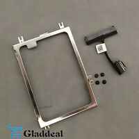 NEW Hard Drive Caddy Bracket + HDD Cable Connector For  Dell Latitude 5450 E5450