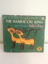 Golden Records The Siamese Cat Song Record